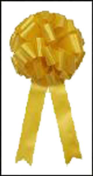 "Support Our Troops Yellow Bow - 12"" Big Bow"