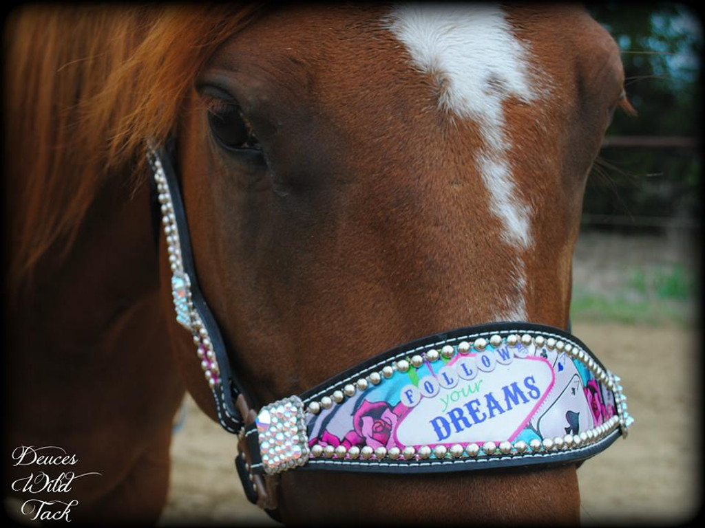 Follow Your Dreams Cheek Halter-Pink Design