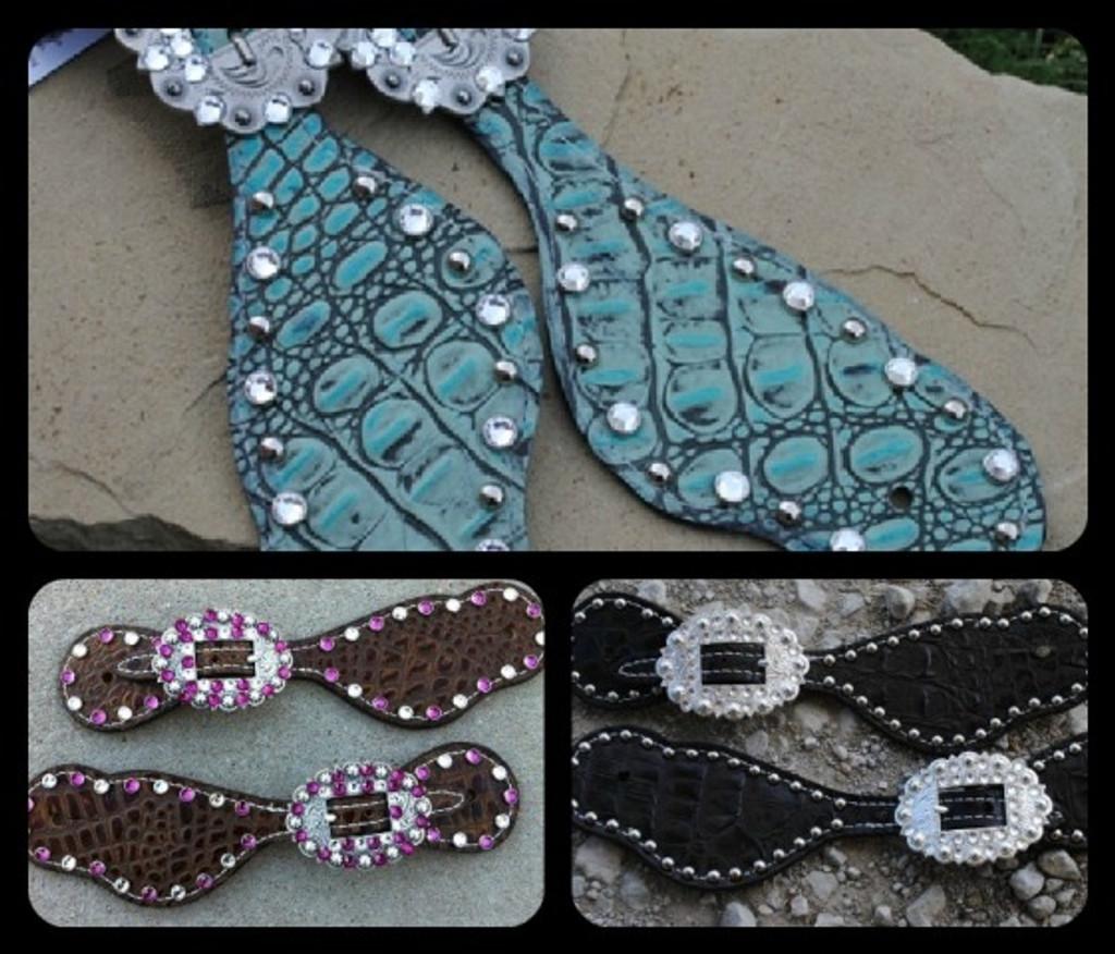 Gator Spur Straps - Choose Your Color!