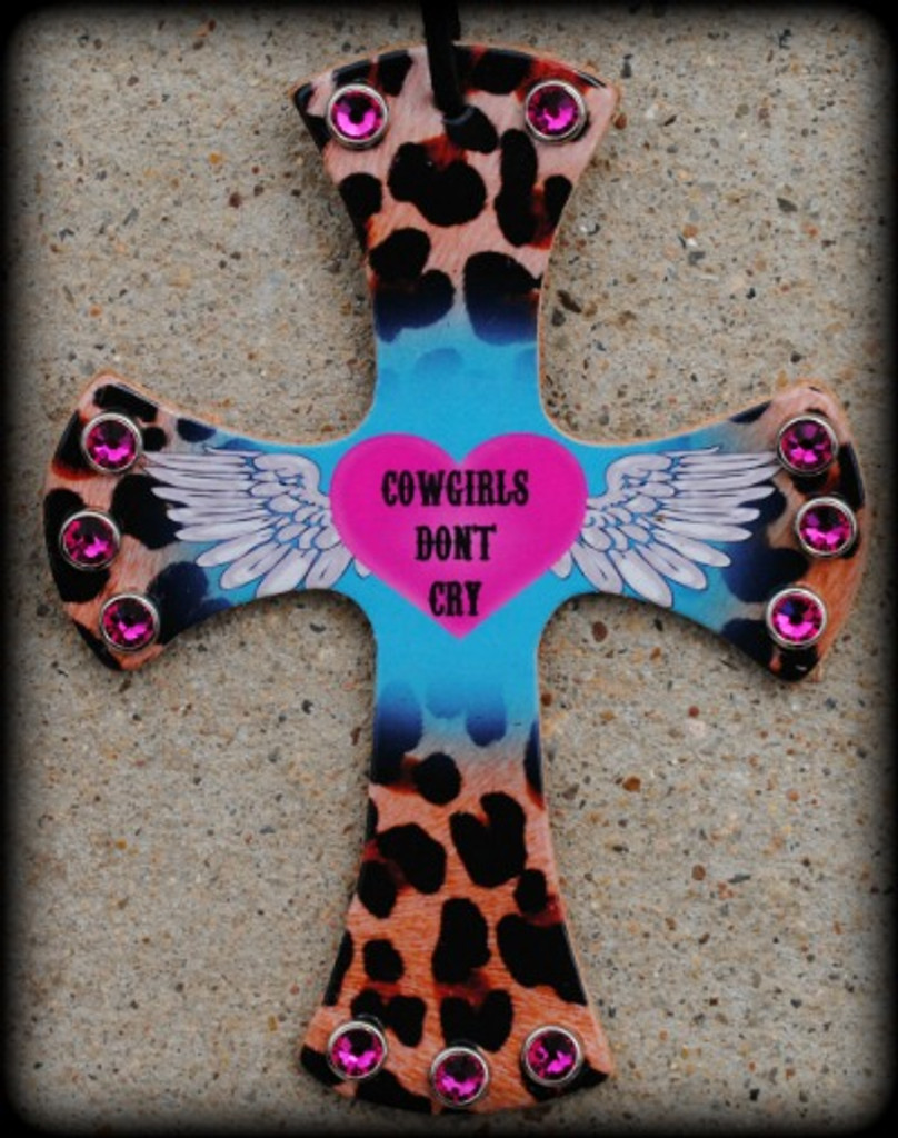 Designed Cowgirls Don't Cry Cross