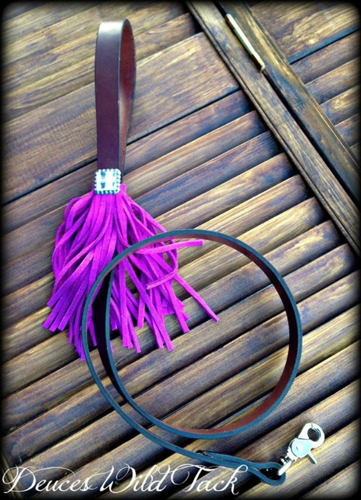 Leash With Fringe