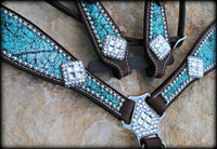 Crackle Turquoise Set