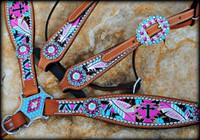 Cheetah Cross Aztec Set