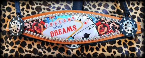 Follow Your Dreams Bronc Halter