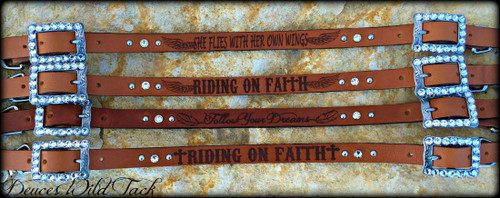 Engraved Wither Strap