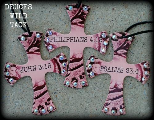 Bible Verse Cross