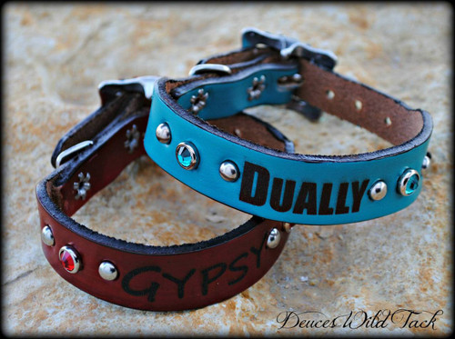 Engraved Small Dog Collar 8-10""