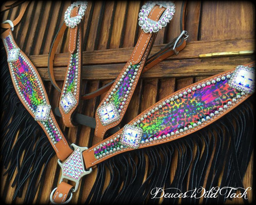 Cheetah Tie Dye Set