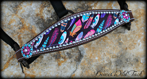 Native Feather Bronc Halter