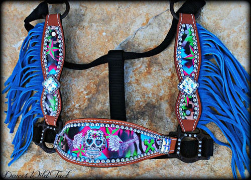 Sugar Skull Wild Thing Cheek Halter