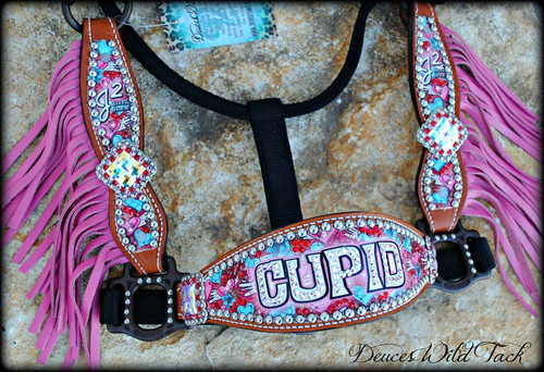 Custom Cupid Cheek Halter