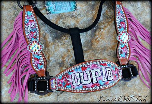 Custom Cupid Cheek Halter