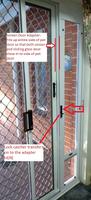 Screen Door Adapter Accessory
