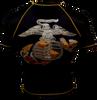 Black and Gold USMC Rash Guard