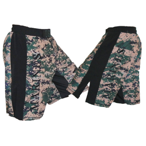 USMC MARPAT Digi Cam Fight Shorts