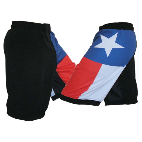 Texas Flag MMA Shorts