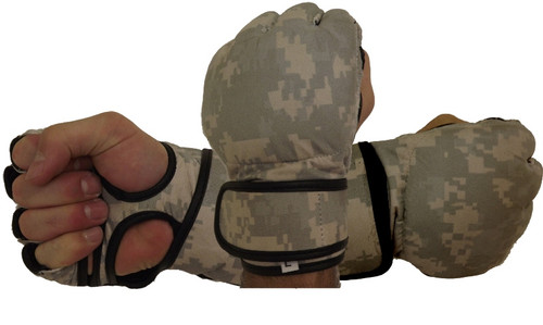 Army Camouflage Fight Gloves