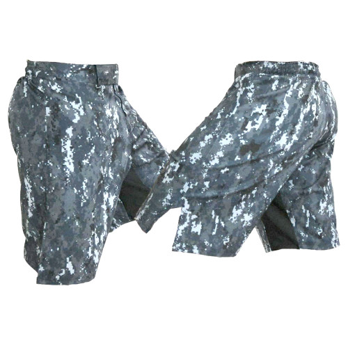 Navy Camo (NWU) Blank MMA Fight Shorts