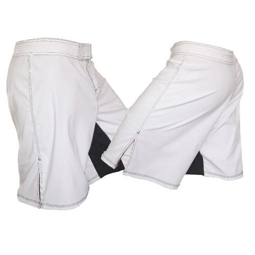 Youth White MMA Shorts