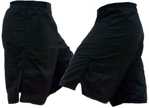 Youth Black MMA Shorts