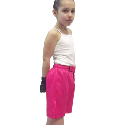 Youth Pink MMA Shorts