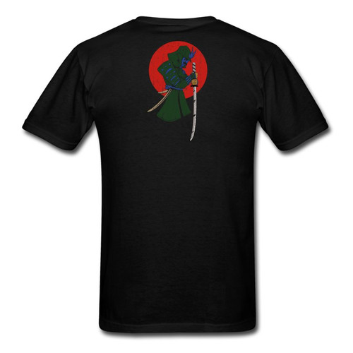 Samurai and Weapons Fight Shirt