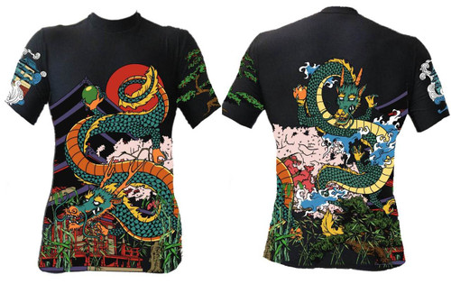 New Japanese Dragaon Rash Guard