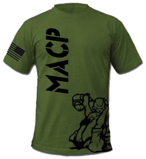OD Green Fight Shirt -100% Cotton