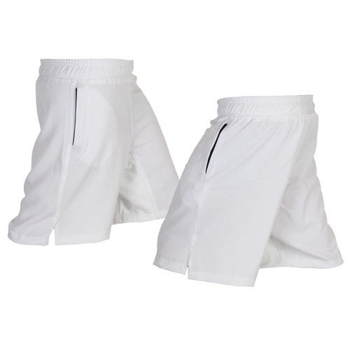 White Athletic Shorts designed for Crossfit