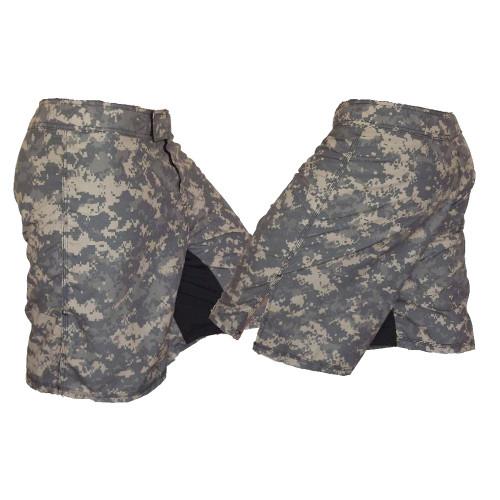 Full ACU Camouflage MMA Fight Shorts