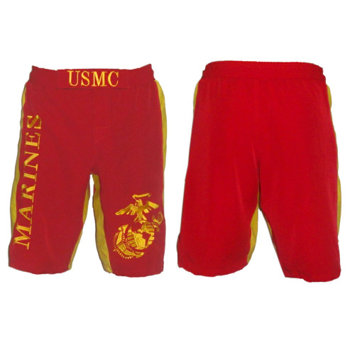 USMC Fight Shorts - Front and Back