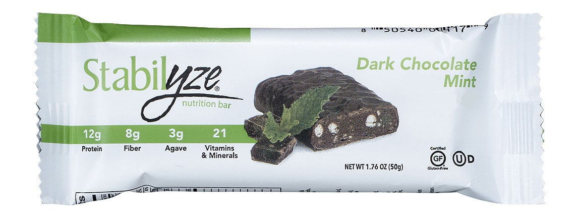 Dark Chocolate Mint Bar