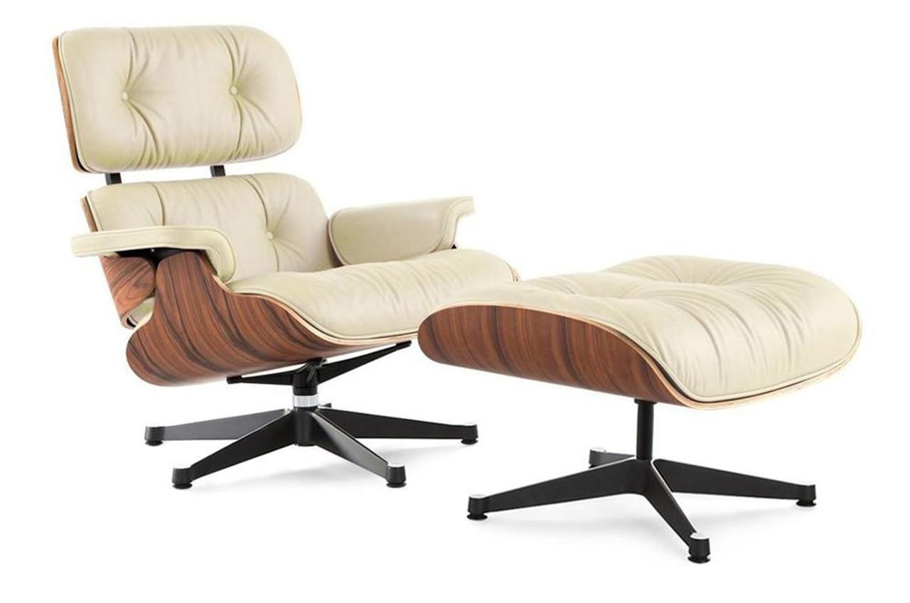 Classic Lounge Chair U0026 Ottoman Cream