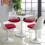 """Lippa 28"""" Square Wood Top Dining Table"""