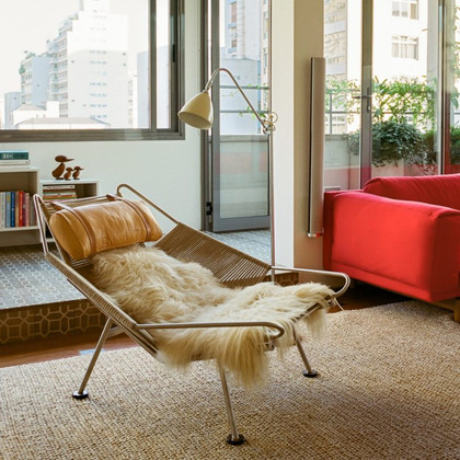 Why the Flag Halyard Chair Matters: A little history on one of the weirdest mid-century designs