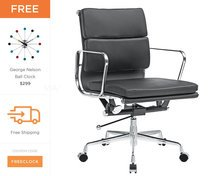 Eames Office Chair | Soft Pad Management Chair