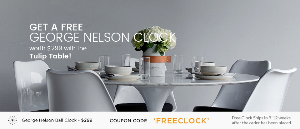 Free George Nelson Ball Clock