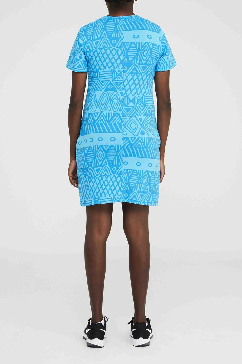 Short Pocket Dress - Turlini Aqua