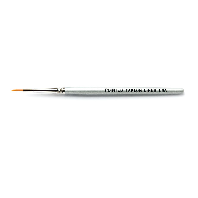 Pointed Taklon Liner Brush (Short)