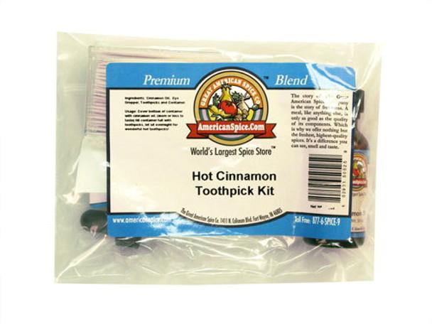 Hot Cinnamon Toothpick Kit