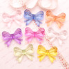 Translucent Acrylic Ribbon Beads - 50 grams
