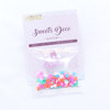 Round Confetti Polymer Clay Toppings -  12 grams