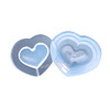 Heart Shaker UV Resin  Silicone Mold