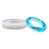 Faceted Bangle Bracelet Silicone Mold (Wide)
