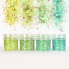 Mint Shade Colours Glitter Set (4 pieces)