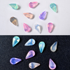 Pastel Teardrop Crystal Gems Rhinestones (36 pieces)
