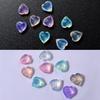 Pastel Heart Crystal Gems Rhinestones (36 pieces)