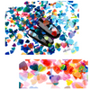 Iridescent Glitter Hearts & Cross Mermaid Glitters (12 Colors)