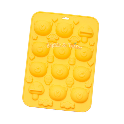 Pirate Bear Silicone Mold