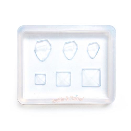 Mini Pyramid Gems Silicone Resin Mold
